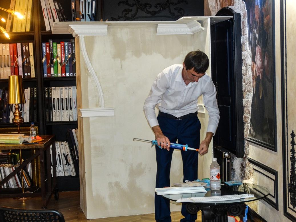 Мастер класс по монтажу лепнины Европласт в Астрахани